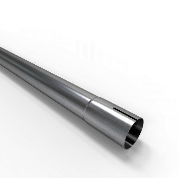 100cm Auspuffrohr universal Ø 38 mm Stahl Auspuff Rohrverlängerung