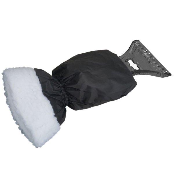 Eiskratzer mit Handschuh Auto Scheiben Kratzer schwarz