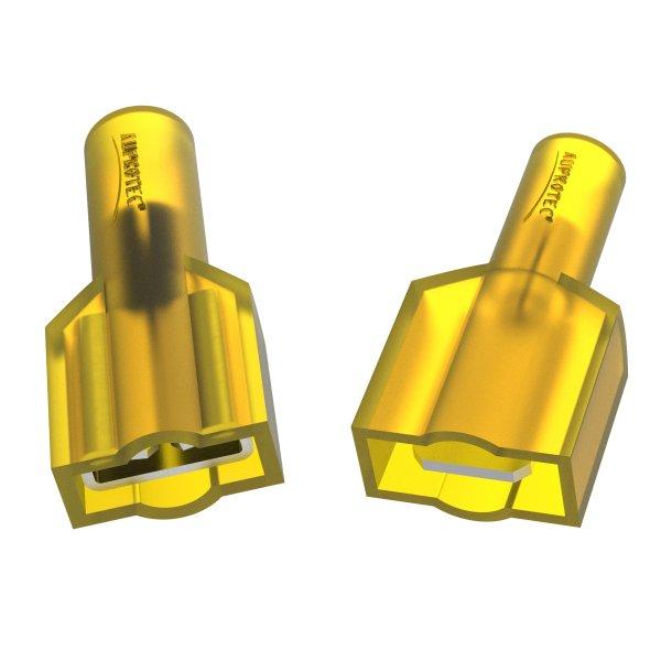 Flachstecker 4 - 6 mm² Vollisoliert MFDFNY