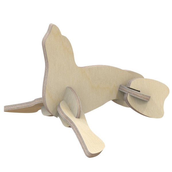 3D Holzbausatz Multiplex Birkenholz Modell Robbe