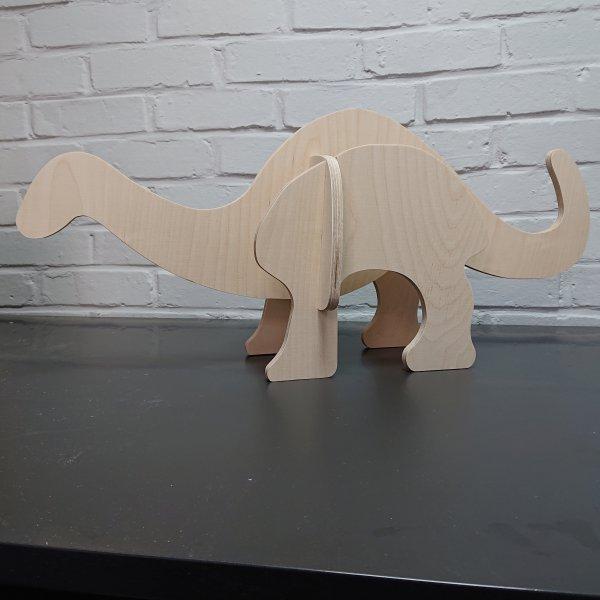 3D Holzbausatz Multiplex Birkenholz Modell Dino II