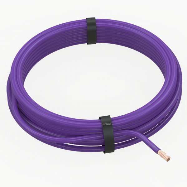AUPROTEC Fahrzeugleitung Ring violett