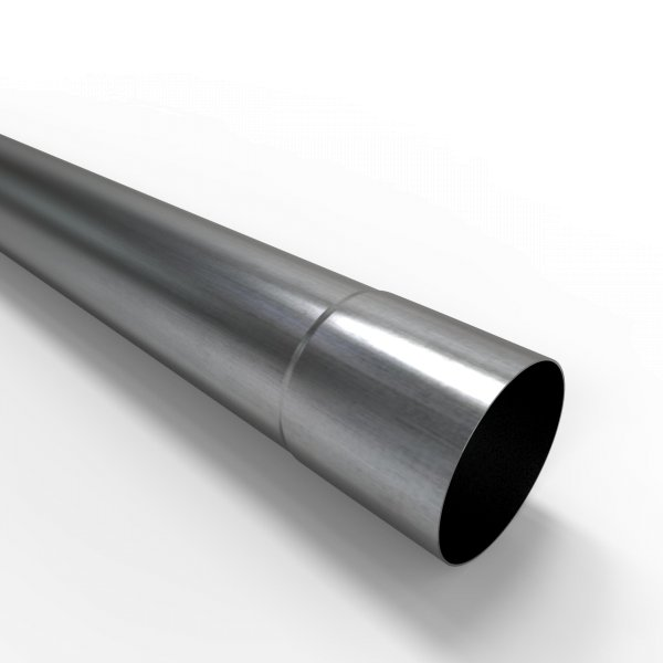 40cm Auspuffrohr universal Ø 65 mm Stahl Auspuff Rohrverlängerung