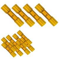 Schrumpfverbinder Ø 4 - 6 mm² gelb wärmeschrumpfend