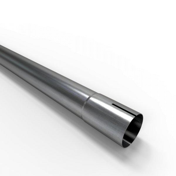 100cm Auspuffrohr universal Ø 42 mm Stahl Auspuff Rohrverlängerung