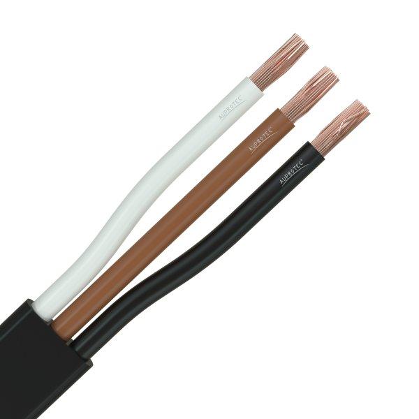 Flachkabel 3 x 0,75 mm² Kfz Kabel 3 polig/adrig Meterware