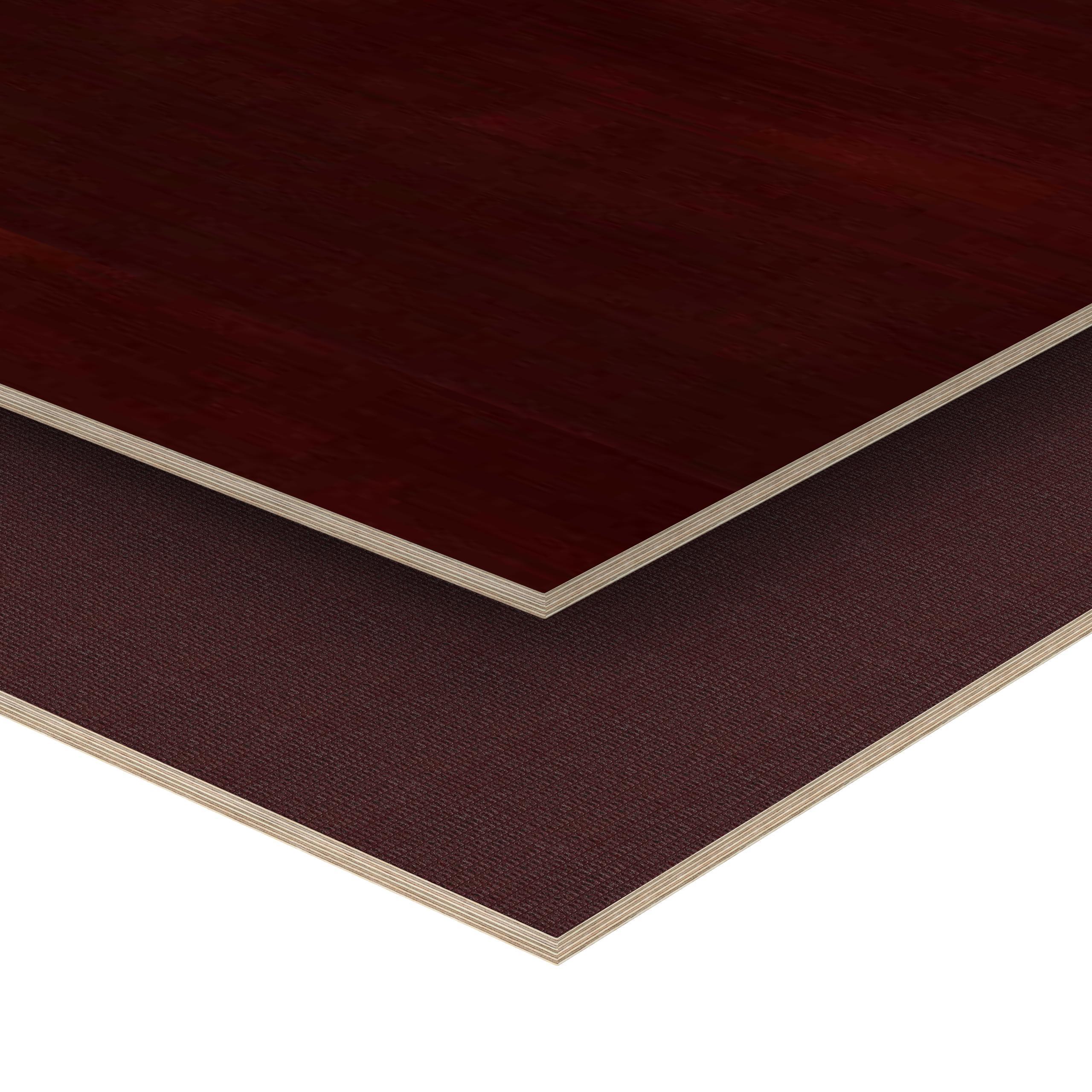 Siebdruckplatte 24mm Zuschnitt Multiplex Birke Holz Bodenplatte 150x80 cm