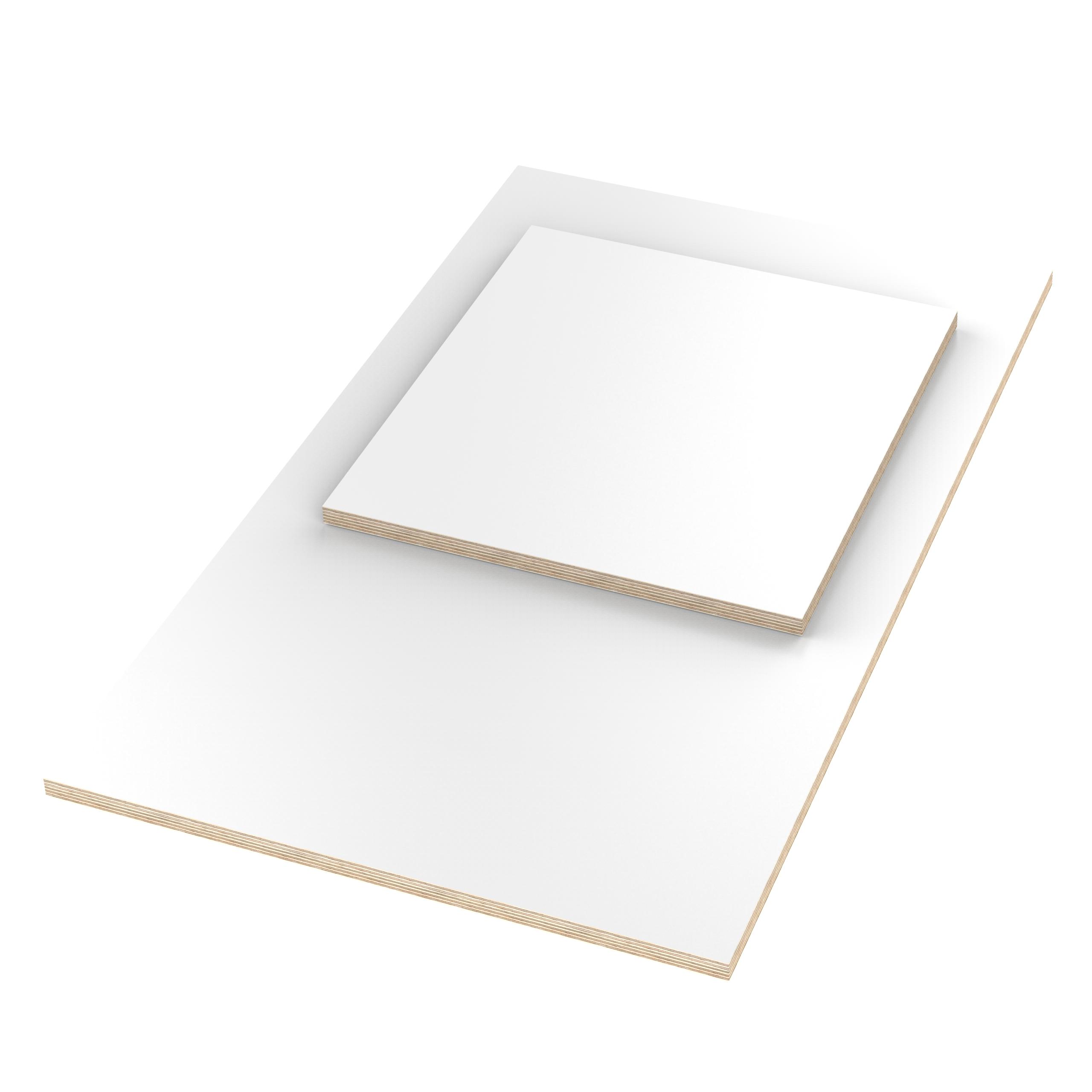 100x50 cm AUPROTEC Tischplatte 18mm schwarz 1000 mm x 500 mm rechteckige Multiplexplatte melaminbeschichtet von 40cm-200cm ausw/ählbar Birken-Sperrholzplatten Massiv Holz Industriequalit/ät Auswahl