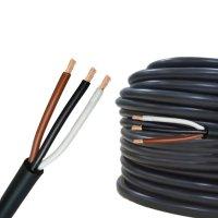 Rundkabel 3 x 1,0 mm² Kfz Kabel 3 polig/adrig Meterware