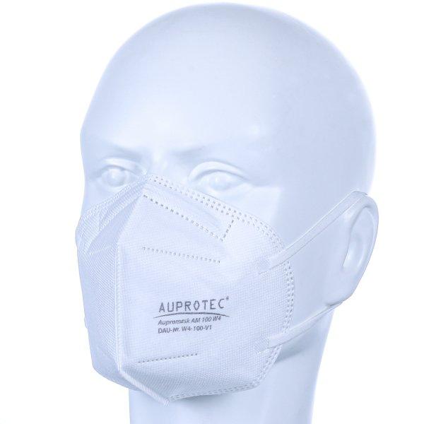 Premium Mehrweg Mundschutz Maske Mund- und Nasenschutz weiß