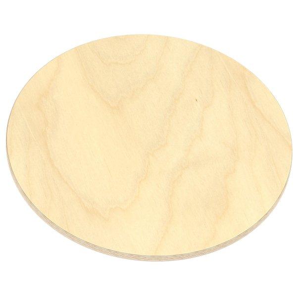 Multiplexplatte Holzplatte Tischplatte Rund