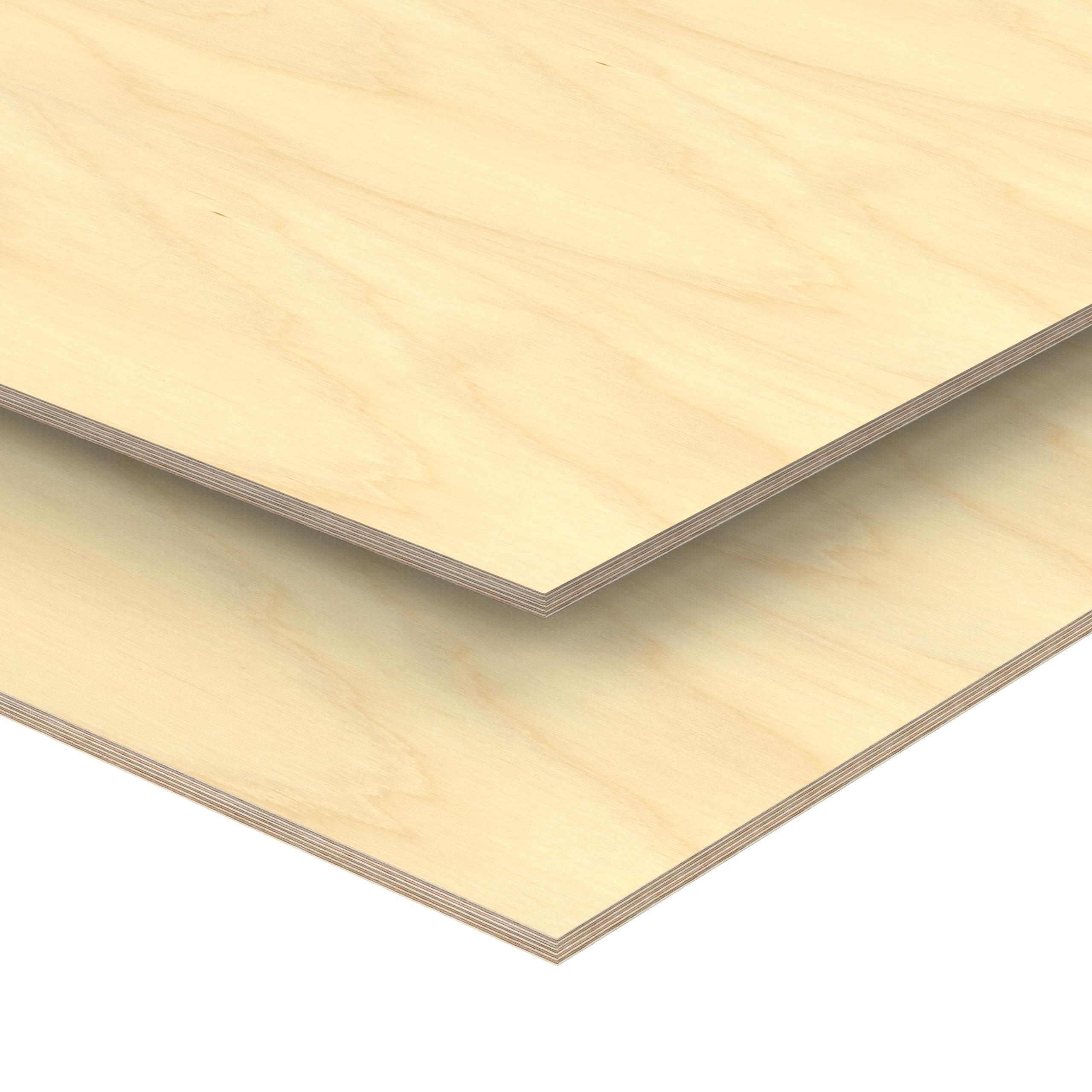 Sperrholz 13,00€//m² 5 mm Birke Sperrholzplatte Bastelholz 20 Platten 50 x 30 cm