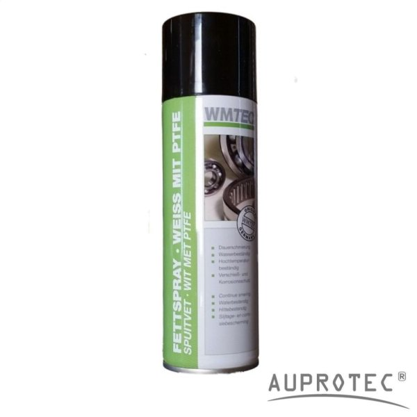 Fettspray PTFE 300ml Spraydose weiß | WMTec
