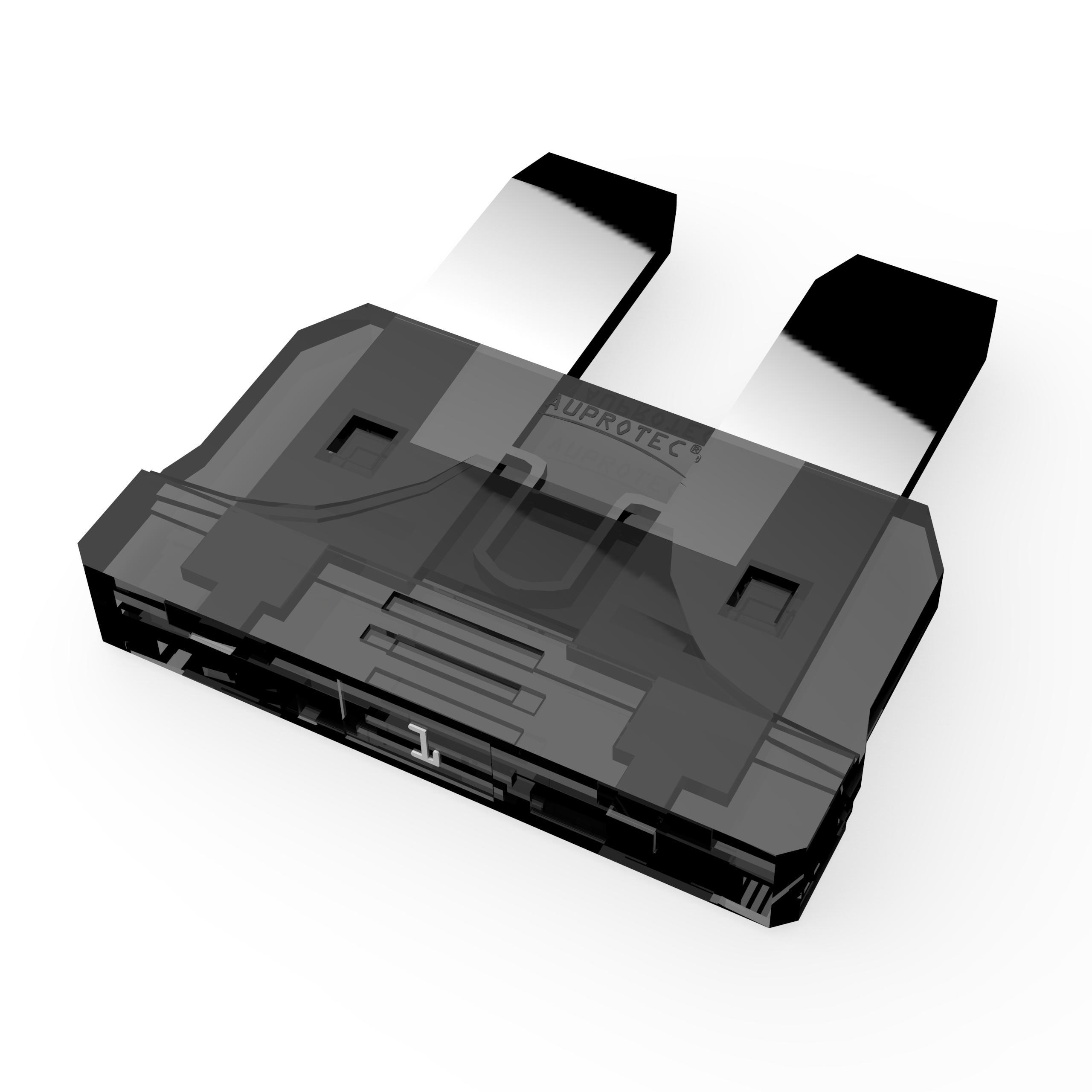 1 St/ück 80A Ampere wei/ß 80A Stecksicherung Schmelzsicherung Auswahl AUPROTEC Maxi Flachstecksicherung 20A