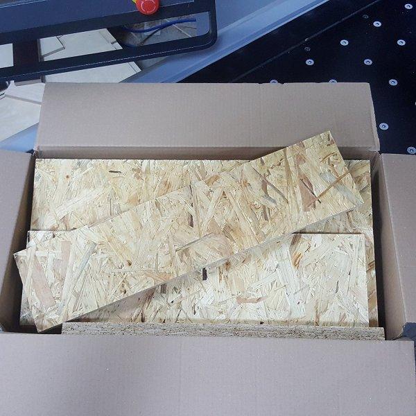 Restposten Gemisch OSB/3 Platte Sperrholz Platten Zuschnitt Siebdruck Holz