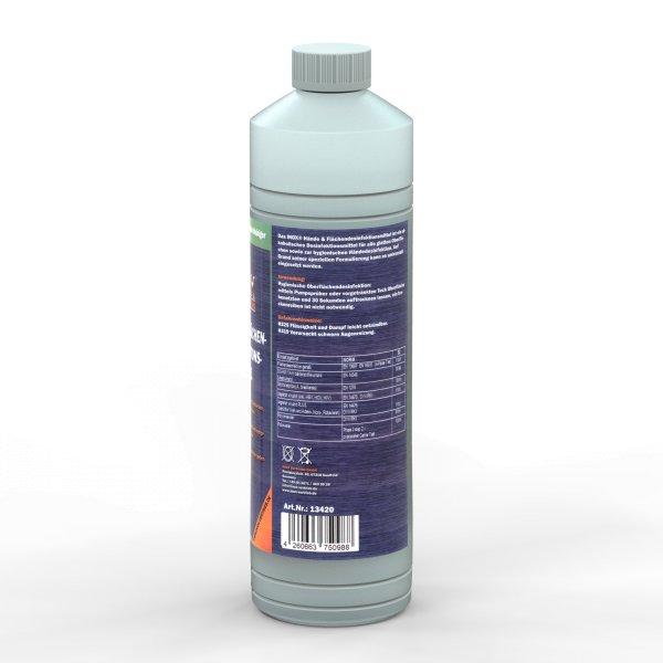 Desinfektionsmittel für Hände und Flächen auf Ethanolbasis > 99% nach WHO 1 Liter