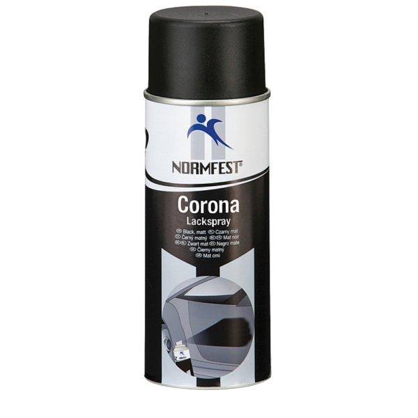 Normfest Lackspray Corona schwarz, matt 400ml