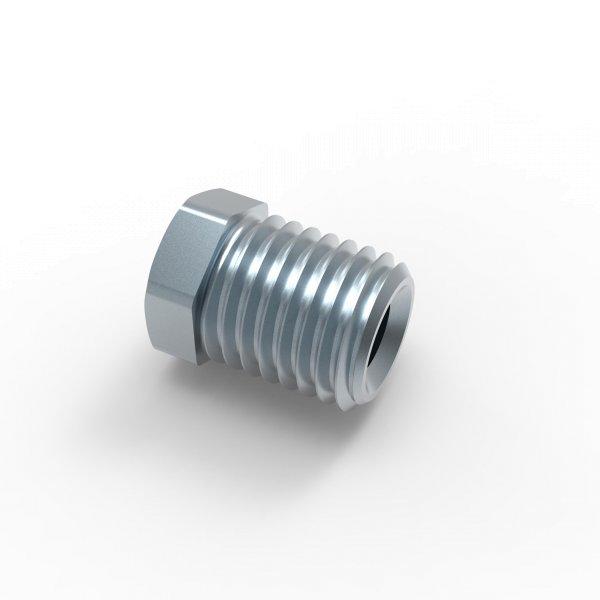 Verschraubung Bördel E - M10x1,25 - Typ M - Länge 15,0 mm