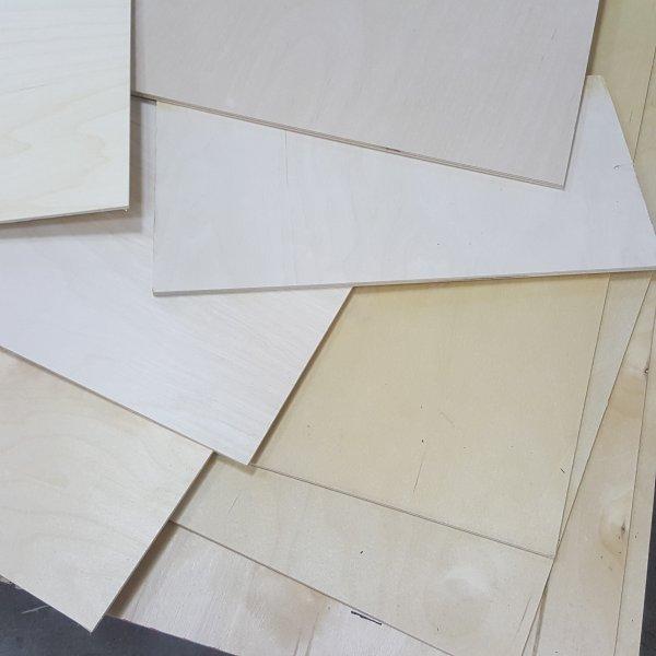 Restposten Sperrholz Platten Birke Holz Zuschnitt Bastler