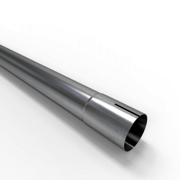100cm Auspuffrohr universal Ø 45 mm Stahl Auspuff Rohrverlängerung