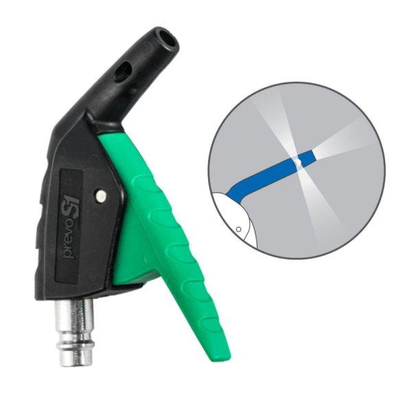 Sicherheits Druckluftpistole Mini Venturi Düse OSHA Blaspistole S1 mit Stecktülle