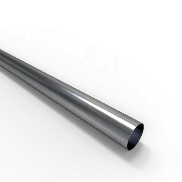 Auspuffrohr universal Ø 35 mm Auspuff Stahl aluminiert