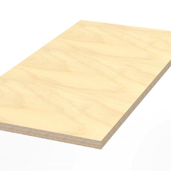 Werkbankplatte 2300 x 750 x 30 mm Multiplex Platte massiv geschliffen + geölt