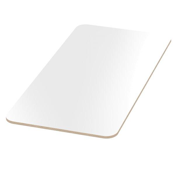 18 mm Multiplex Platten weiß melaminbeschichtet Zuschnitt auf Maß