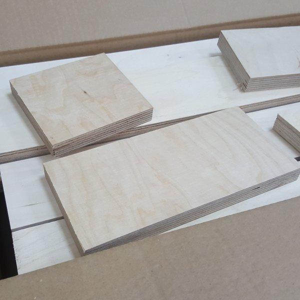 12mm Multiplex Zuschnitt L/änge bis 200cm Multiplexplatten Zuschnitte Auswahl 20x30 cm