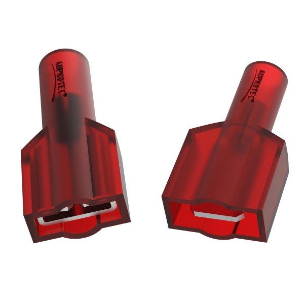 Flachstecker 0,5 - 1,5 mm² Vollisoliert MFDFNY