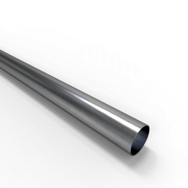 Auspuffrohr universal Ø 38 mm Auspuff Stahl aluminiert