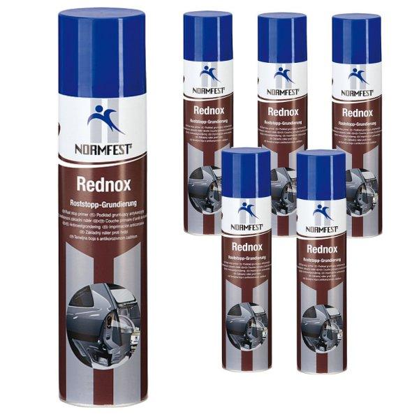 rostumwandler spray roststopp grundierung rednox anti rostspray 400ml. Black Bedroom Furniture Sets. Home Design Ideas