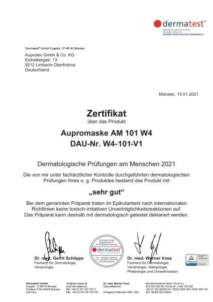 10 Stück FFP2 Maske Aupromask AM-101 Atemschutzmaske EU CE 0370 Zertifiziert EN149:2001+A1:2009