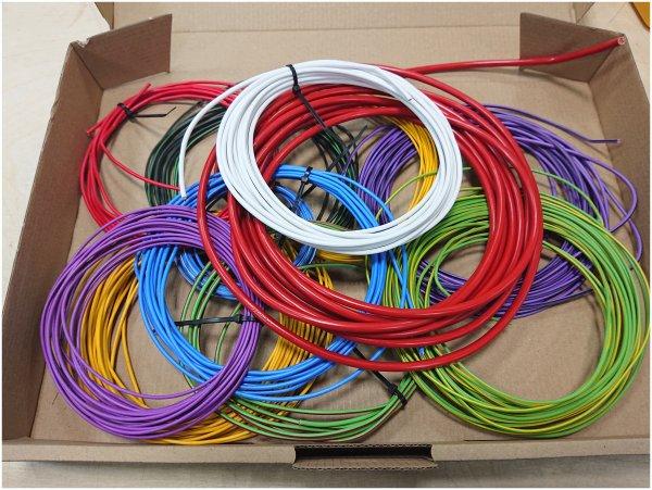 Reste Fahrzeugleitung 0,35 mm² - 2,5 mm² Kfz Kabel gemischt