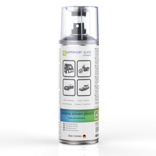 AUPROPAINT GLOSS 400ml Auto Lack Spray schwarz   auprotec.com