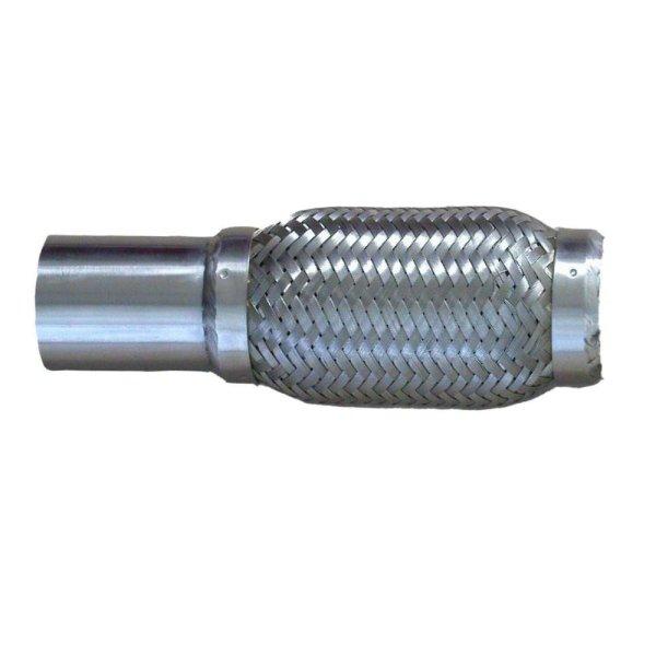 Flexrohr Edelstahl einseitig mit Anschlussrohr / Anschweißrohr