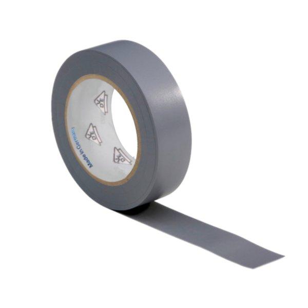 VDE Isolierband Elektriker Klebeband 10m Rolle grau