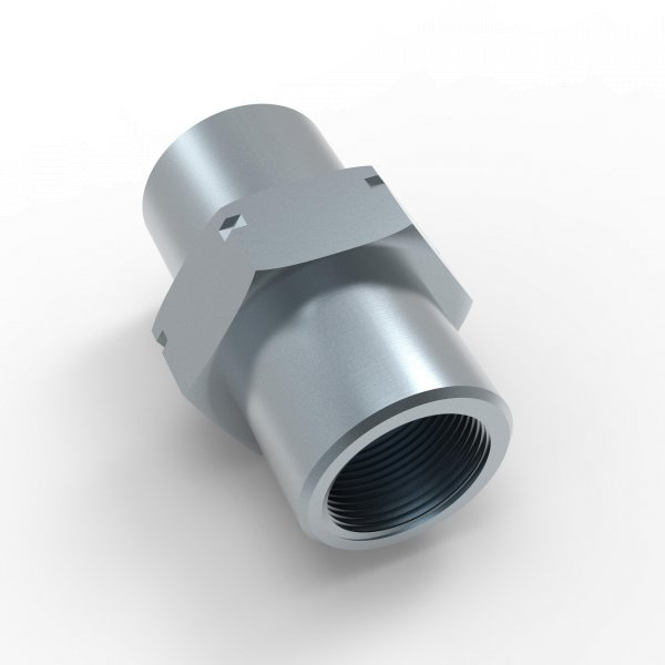 6x Verschraubung M12 x 1 f/ür Bremsleitung 4,75 mm B/ördel F Typ B 5,0 Profi Verbinder DIN//ISO 1651 konform