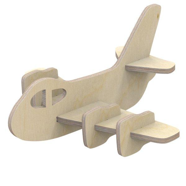 3D Holzbausatz Multiplex Birkenholz Modell Flugzeug