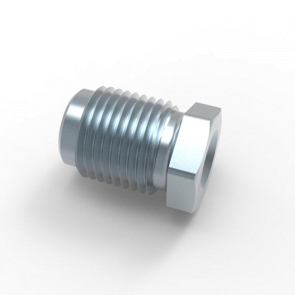 Verschraubung Bördel E - M12x1 - Typ B - Länge 20,0 mm