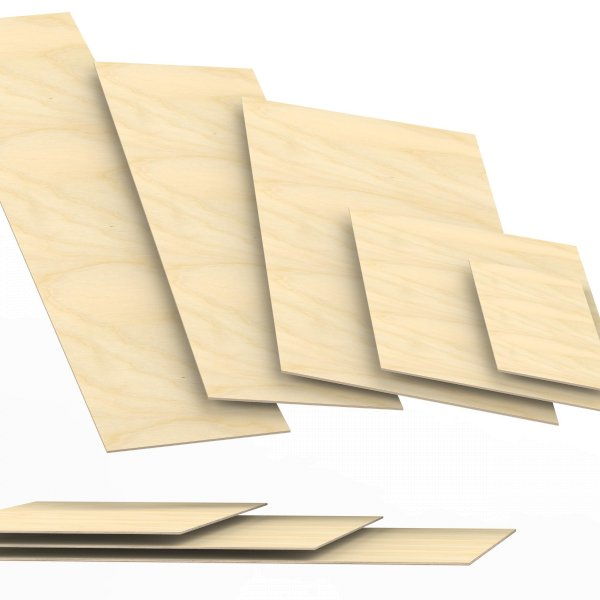 5 mm Sperrholzplatten aus Birke Zuschnitt auf Maß