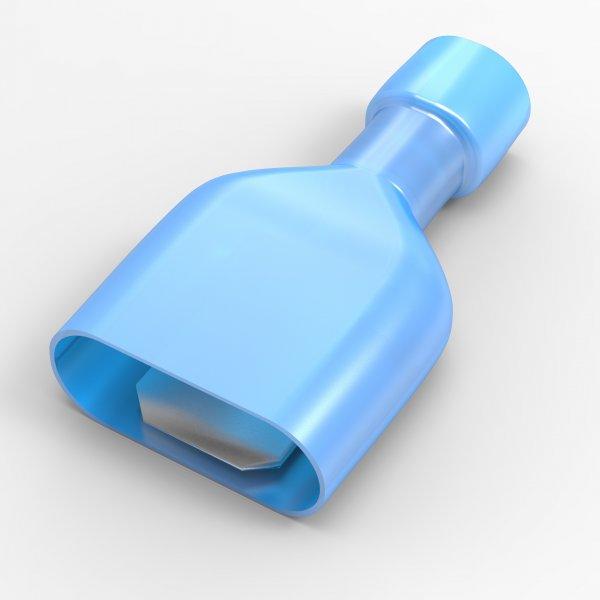 Flachstecker 1,5 - 2,5 mm² Vollisoliert MDFN