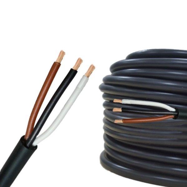 Rundkabel 3 x 0,75 mm² Kfz Kabel 3 polig/adrig Meterware