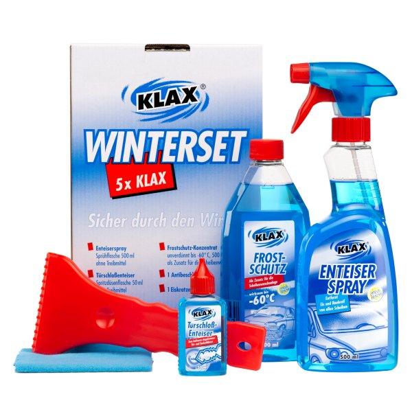 Winter Set Scheiben Enteiser Frostschutz Eiskratzer Antibeschlagtuch Schlosspflege