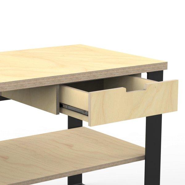 AUPROTEC Profi Design Werkbank mit Schubkasten