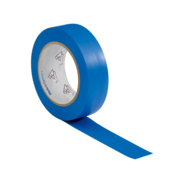 VDE Isolierband Elektriker Klebeband 10m Rolle blau