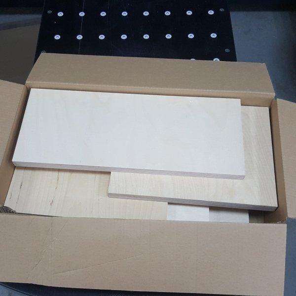 4-5kg Restes contreplaqu/é rev/êtu 12mm-30mm r/ésidu de plaques bois antid/érapant d/ébit/é bouleau retaille