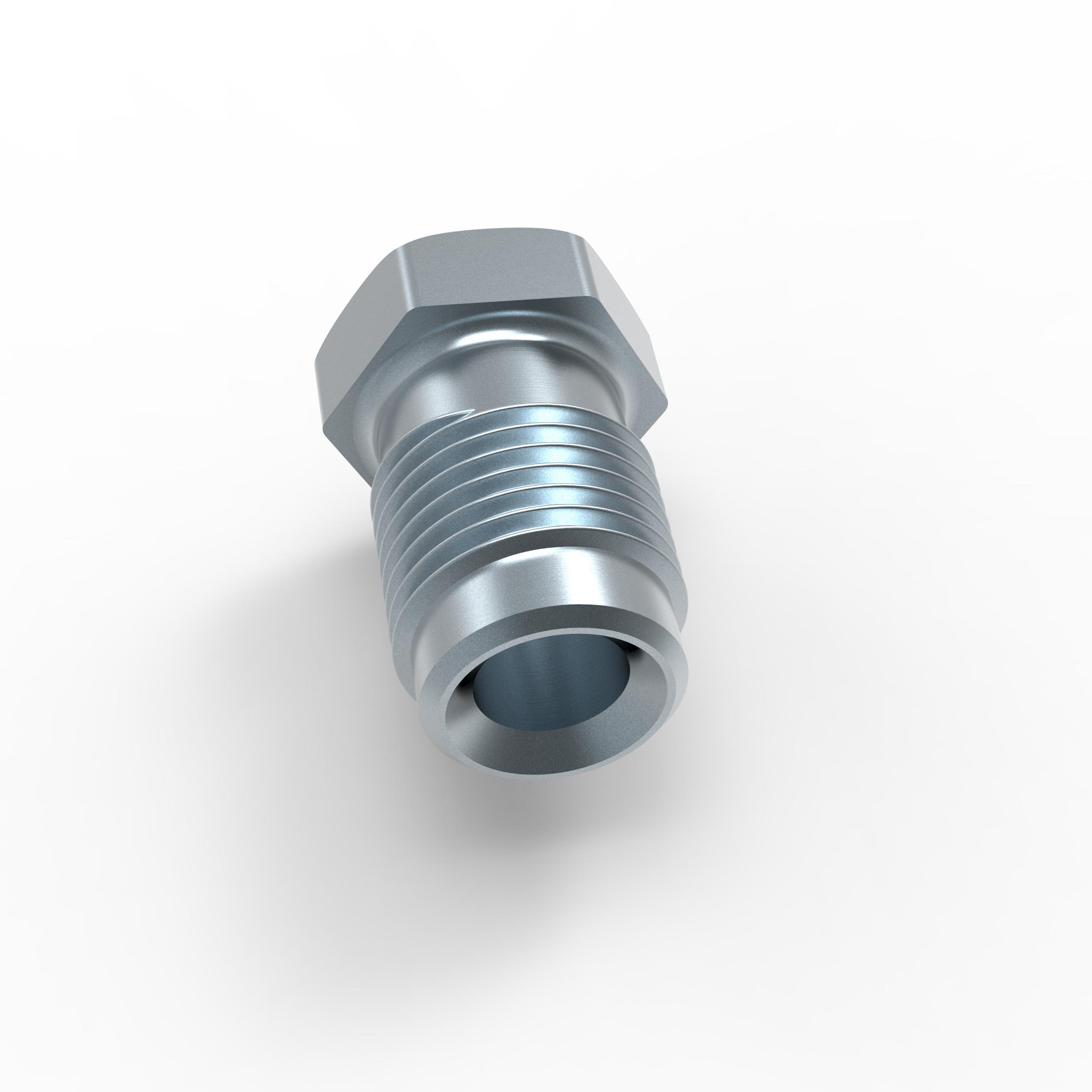 6x Verschraubung 3//8 x 24 f/ür Bremsleitung 4,75 mm B/ördel E Typ H Profi Verbinder DIN//ISO 1651 konform
