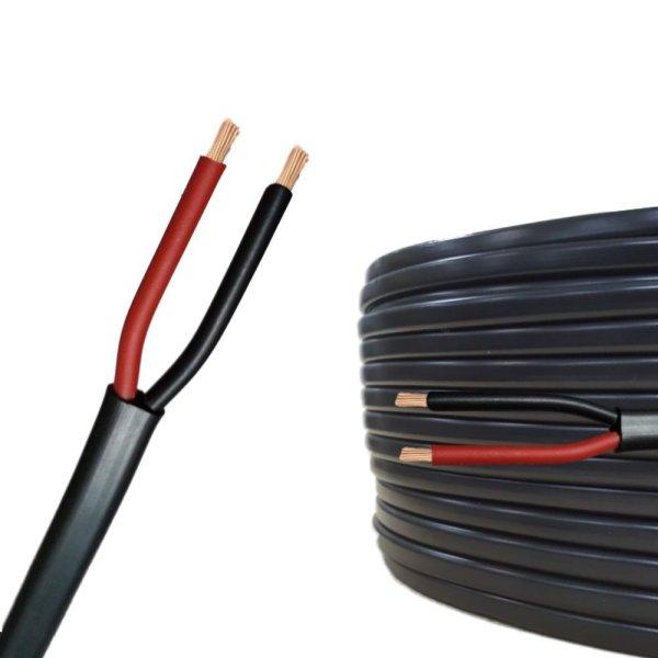 Flachkabel 2 x 1,5 mm² Kfz Kabel 2 polig/adrig Meterware