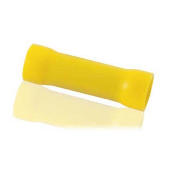 Stoßverbinder Ø 4 - 6 mm² isoliert gelb